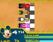 Disney racers verdák játékok